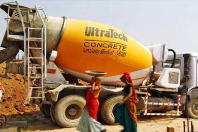 UltraTech Cement sheds over 2 percent after Q2 numbers