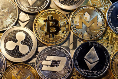 Cryptocurrency prices today: Bitcoin, ether plunge while dogecoin gains. Latest rates